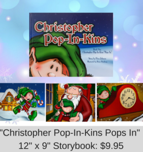 Christopher Pop-In-Kins Pops In Storybook 12X9
