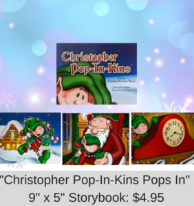 Christopher Pop-In-Kins Pops In Storybook 9X5